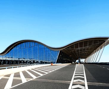 上海浦东新机场三期综合管廊火灾监控系统采用腾盛智能综合管廊火灾监控系统整体解决方案。